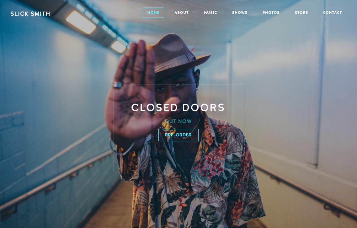Easily build a custom, mobile friendly website