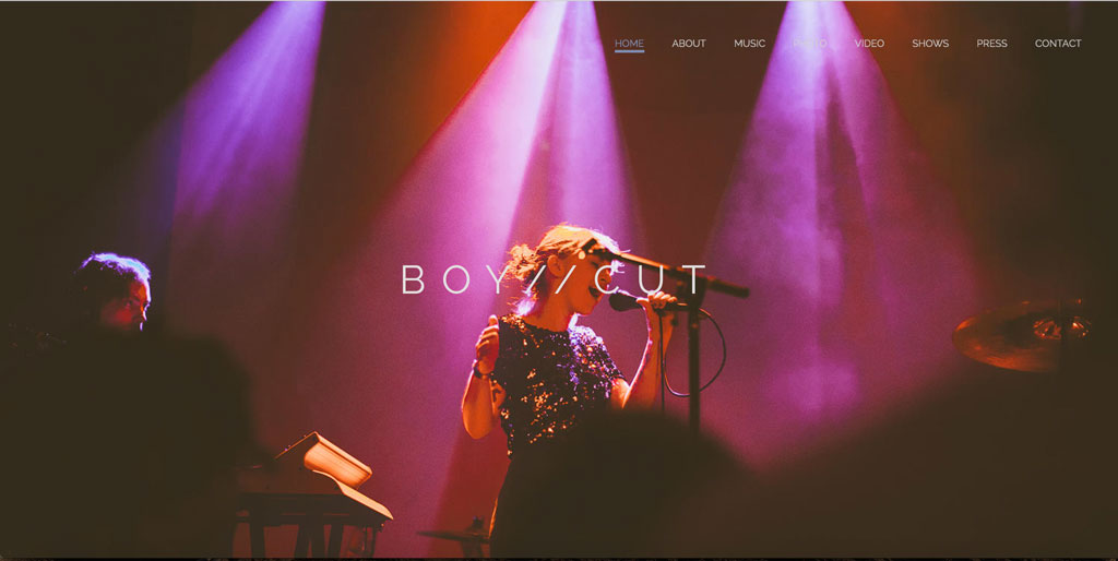 Music website Boycut