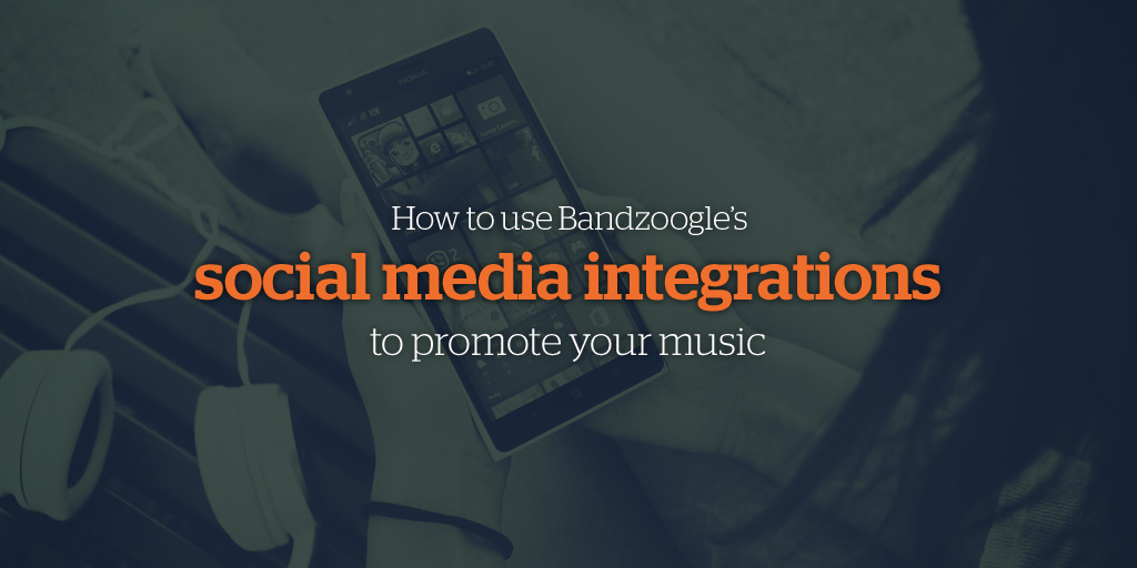 How to use Bandzoogle's social media integrations to promote your music