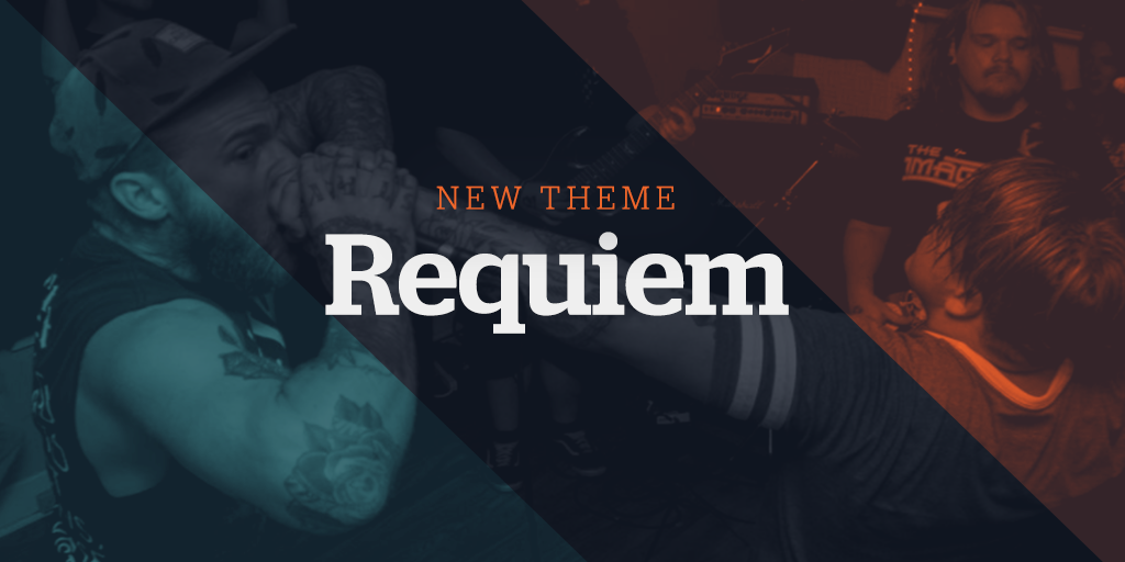 New Website Theme: Requiem