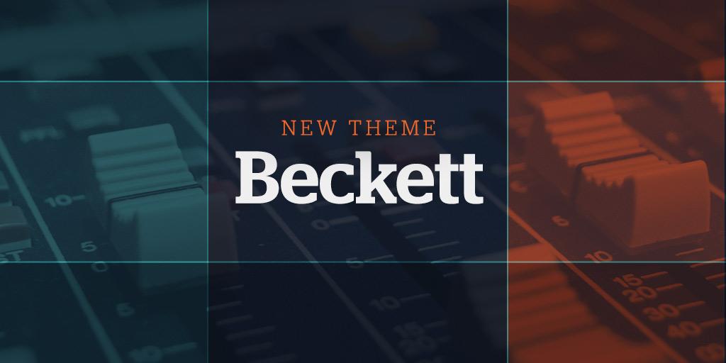 New Website theme: Beckett