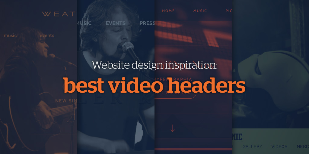 Website design inspiration: Best Video Headers