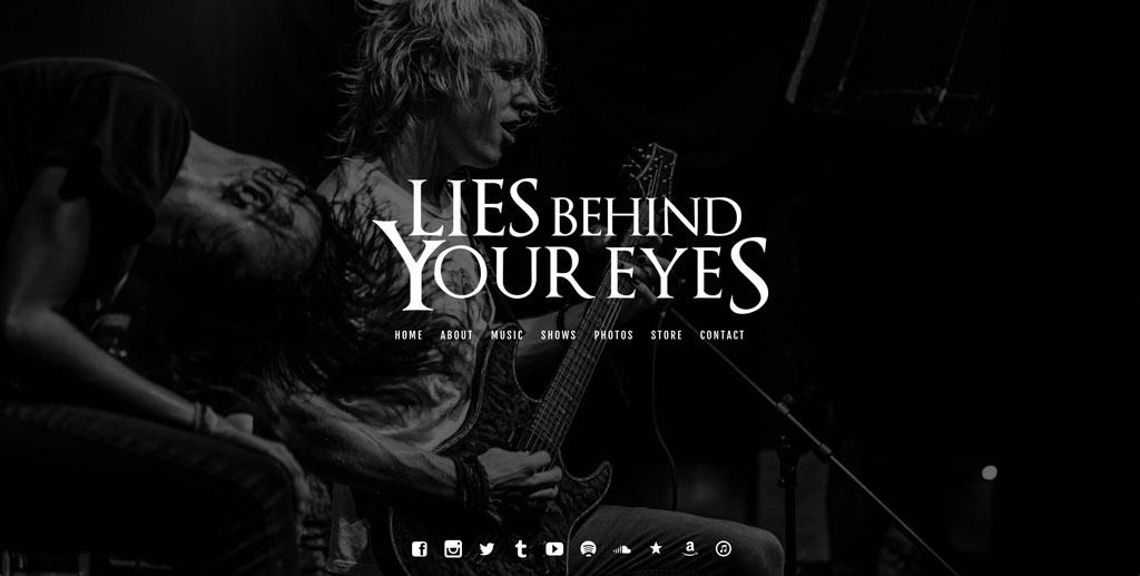 Band website customization