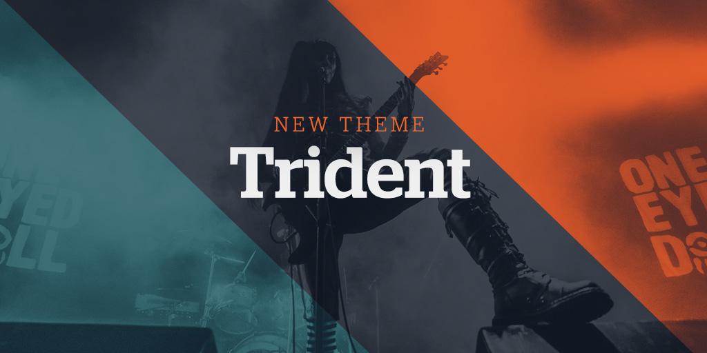 New Website Theme: Trident