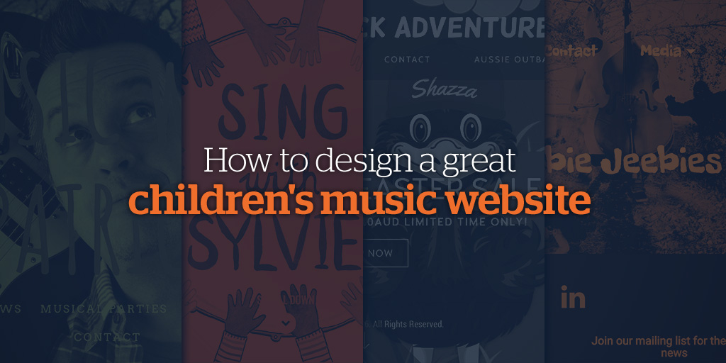 How to Design a great Children's Music Website