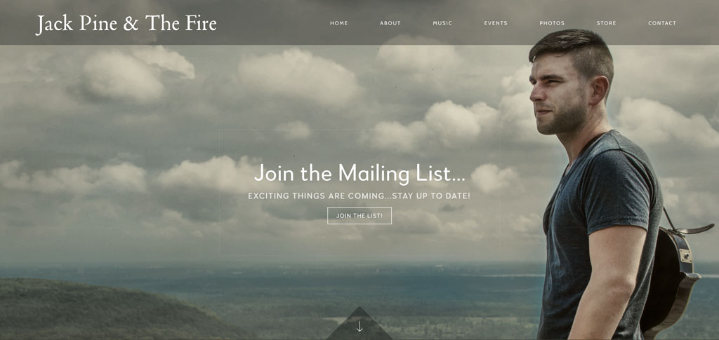 Jack Pine and the Fire website