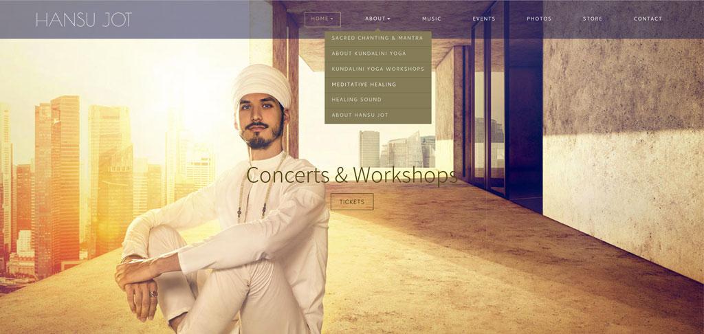 Hansu Jot website customization