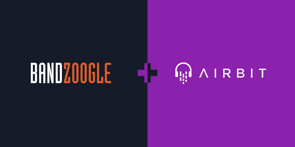 New: Use Airbit to sell beats on your website