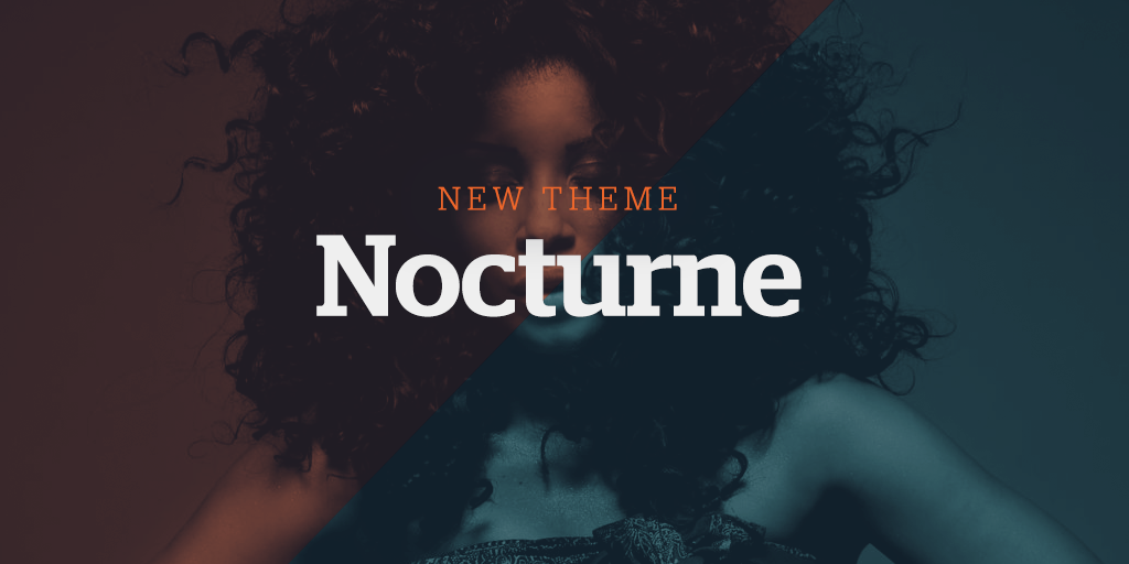New Website Theme: Nocturne
