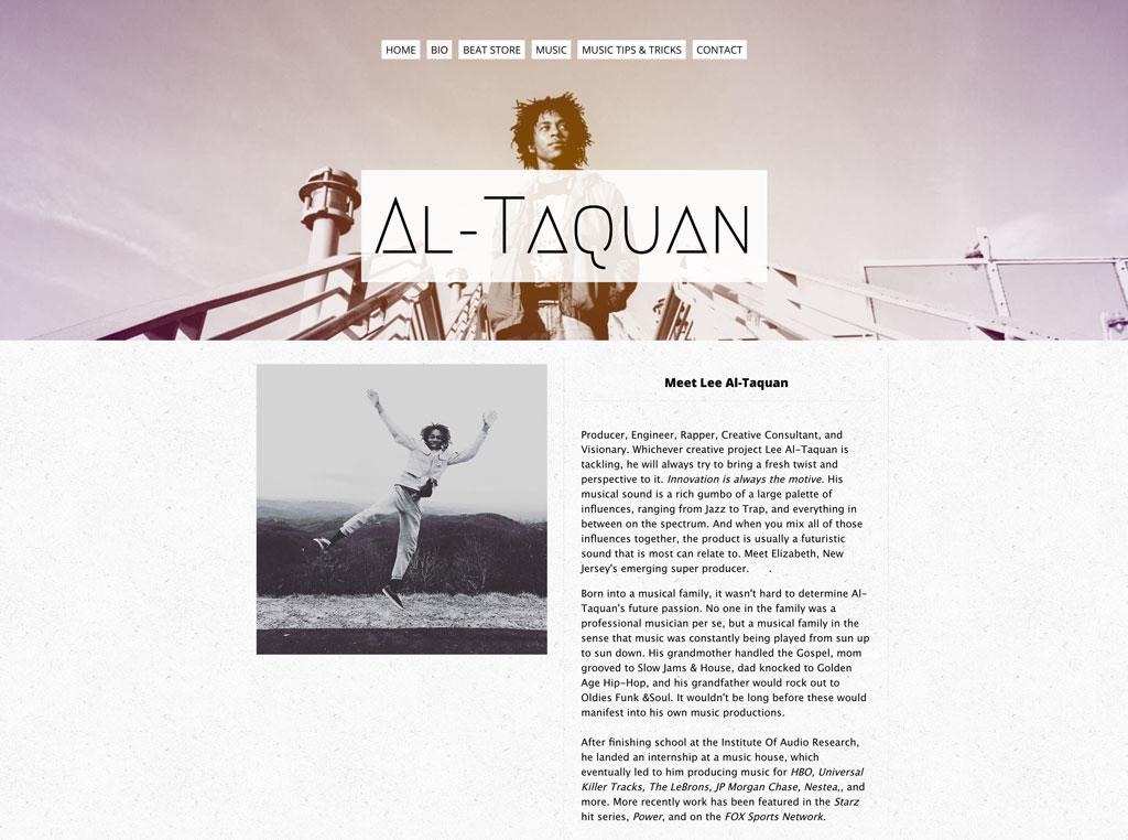 Al-Taquan bio page