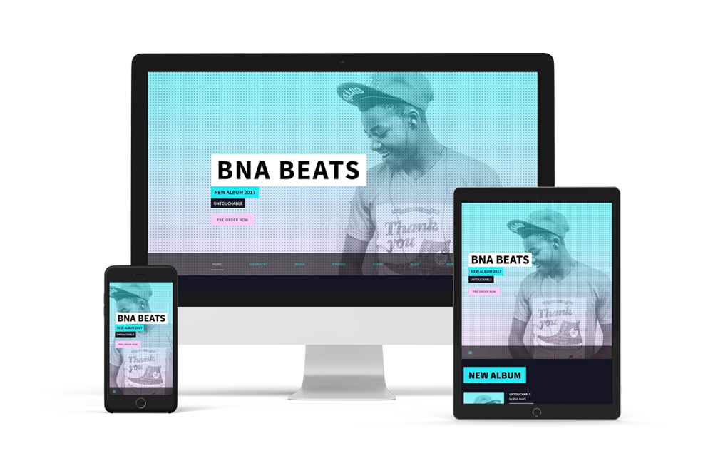New Website theme: Billboard