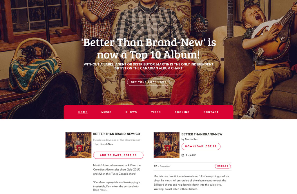 Martin Kerr website