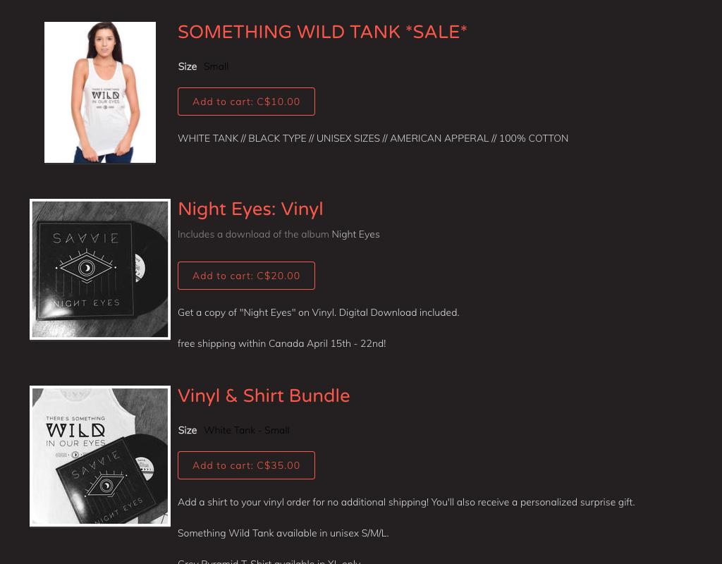 Music website design Store