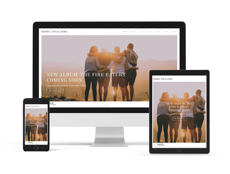 New website theme: Anthem - Elegant variation