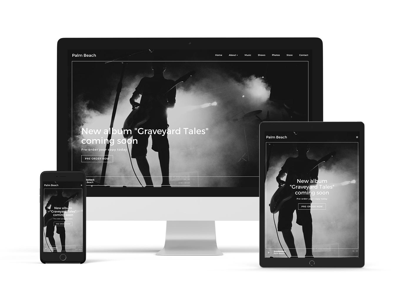 New website theme: Anthem - Neutral variation
