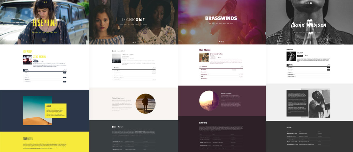 New Website Template: Pulse