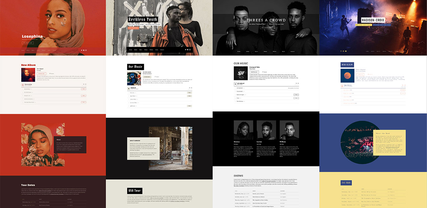 New Website Template: Marquee
