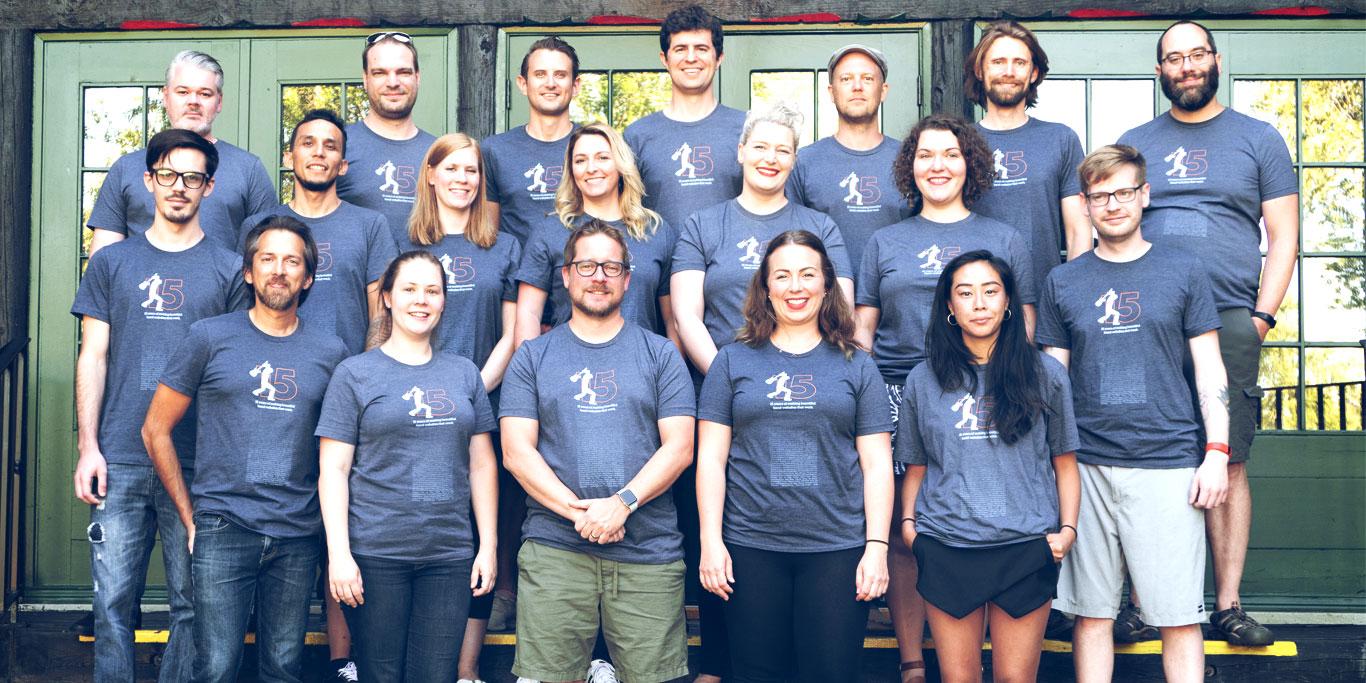 Annual remote team retreat Bandzoogle