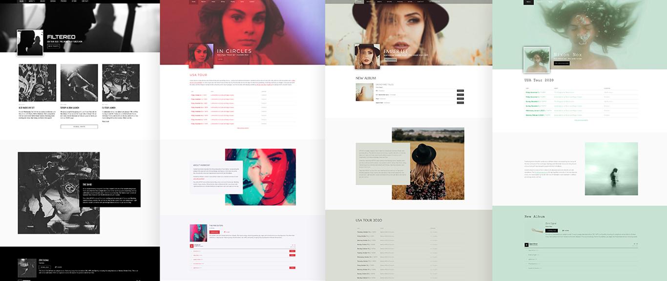 New website template: Filter
