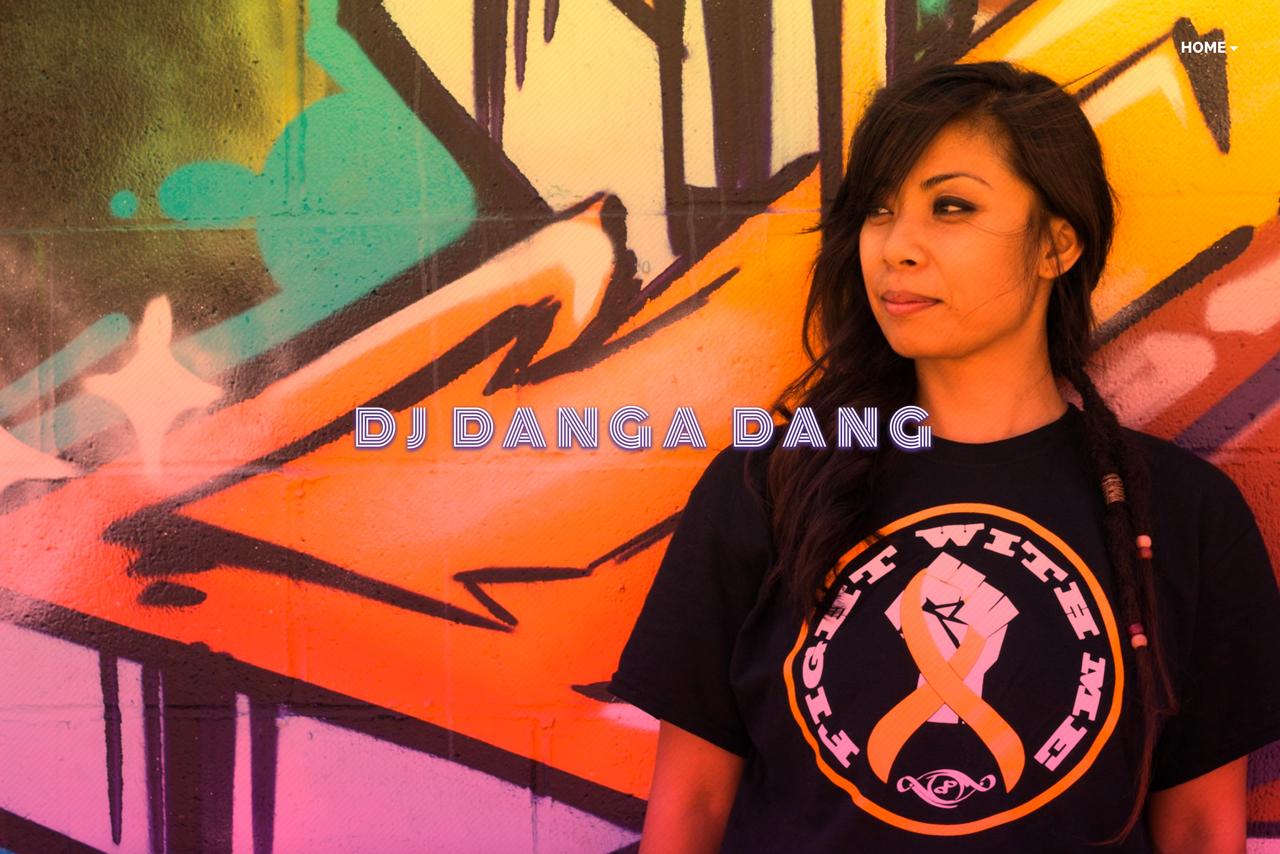 DJ website inspiration: DJ Danga Dang