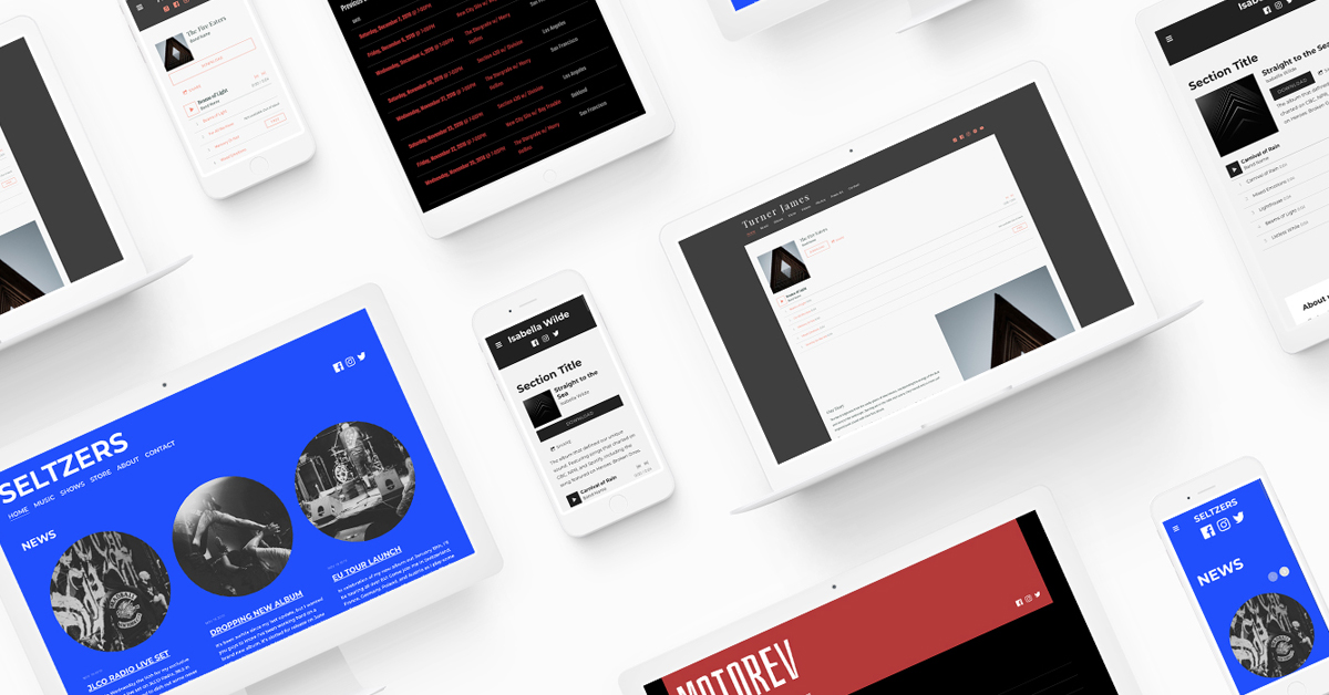 New website template: Slice
