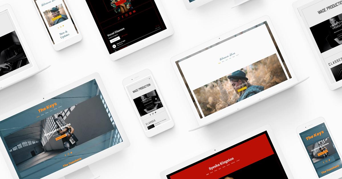 New website template: Nadia