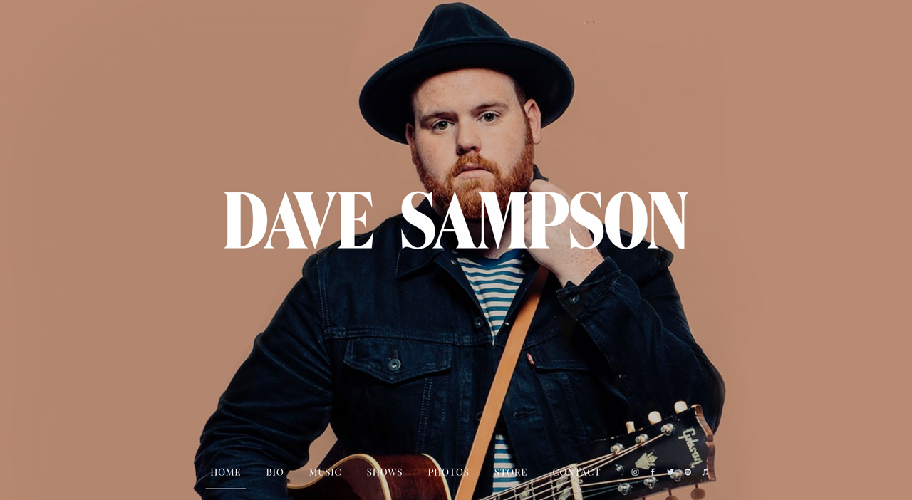 Best songwriter websites: Dave Sampson