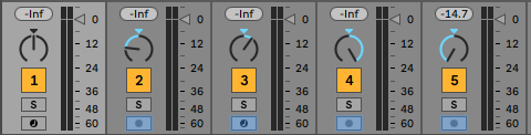 Stereo mix panning