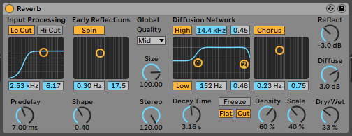 Stereo mix effects