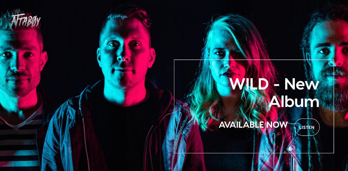 Rock band website design: Attaboy