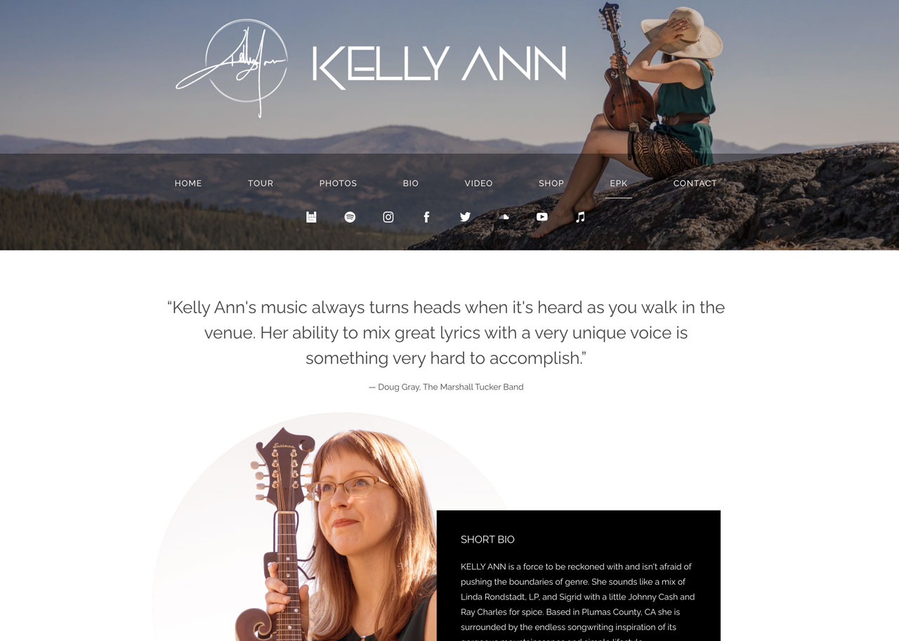How to design a great EPK for singers
