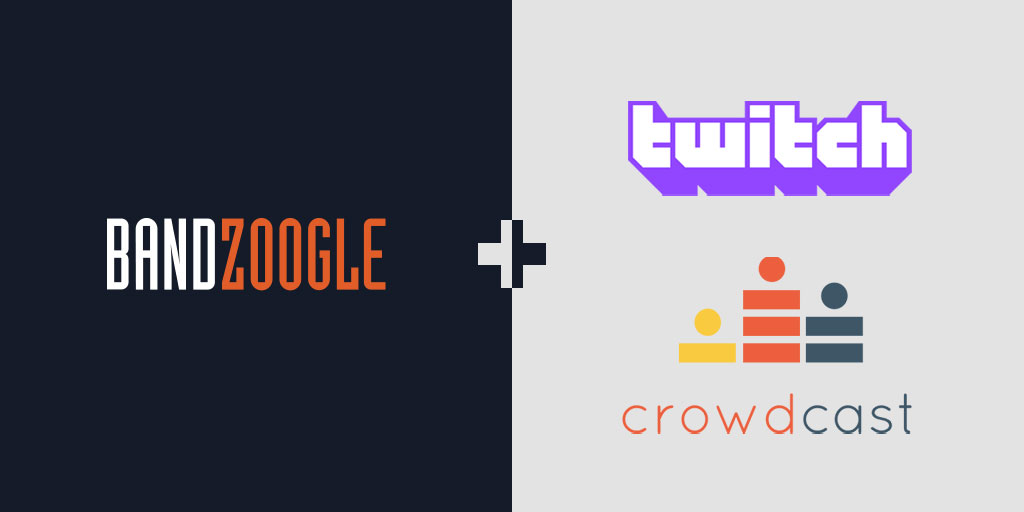 New: Integrate Twitch and Crowdcast video onto your music website