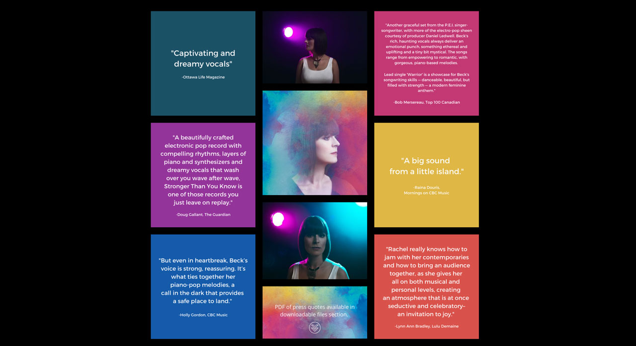 How to create an EPK for your music example