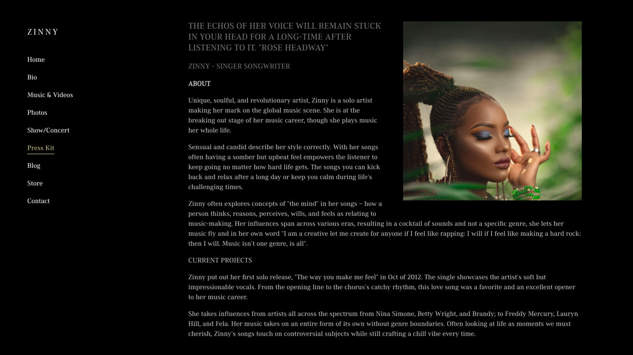 How to create an EPK for your music - with examples