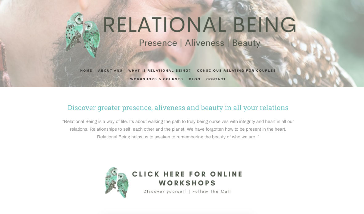 Relational being