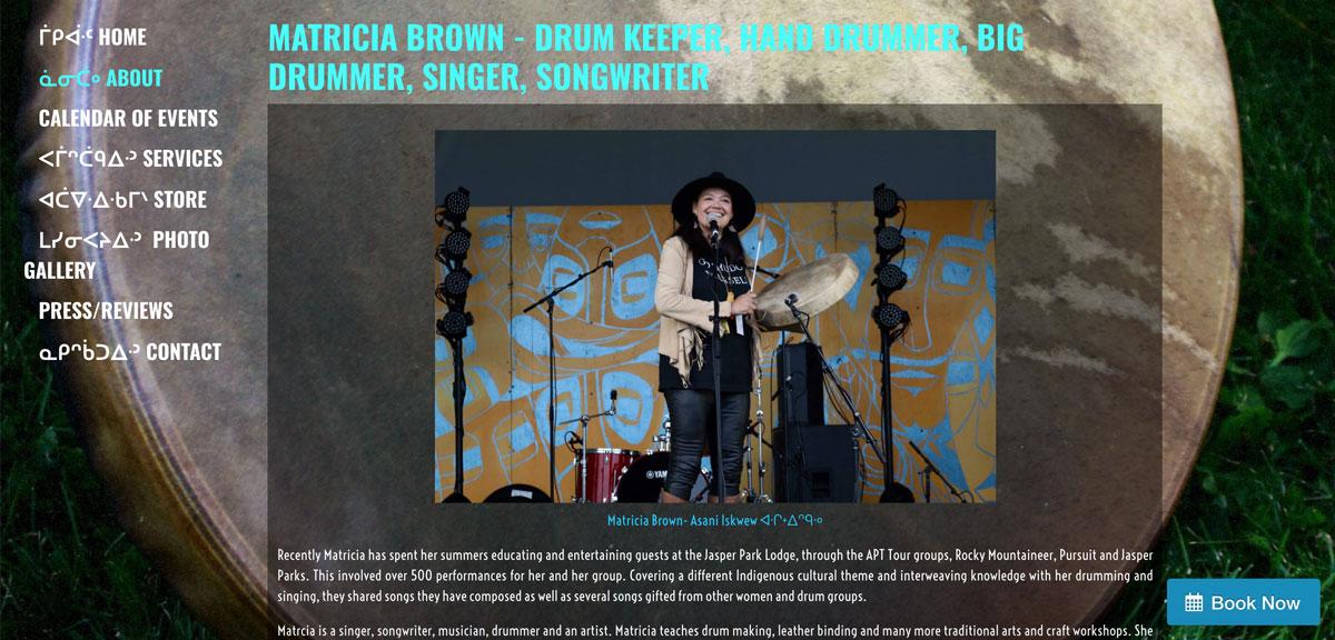 Best drummer websites: website design inspiration