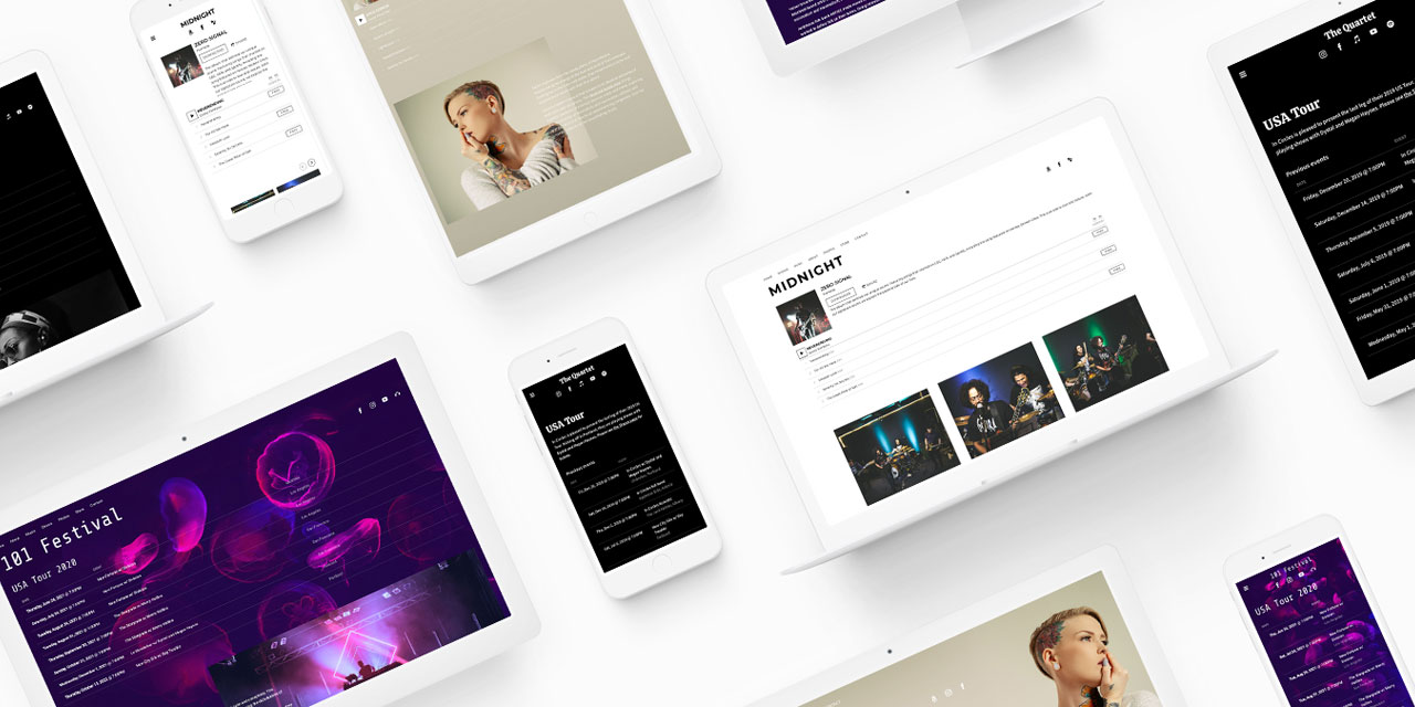 New website template: Jacob