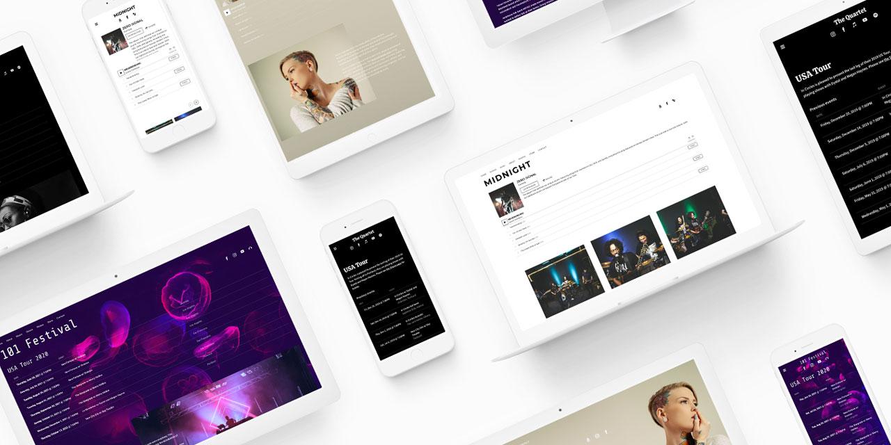 New website template: Jacob