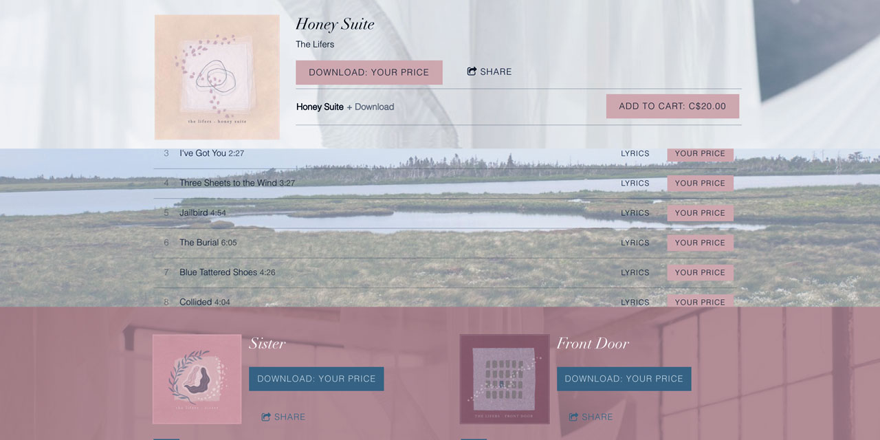 How to use styled sections to customize your band's website design