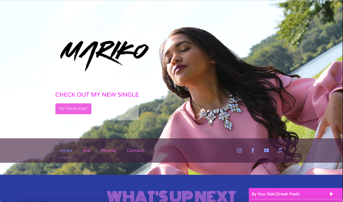 5 best website templates for singer-songwriters