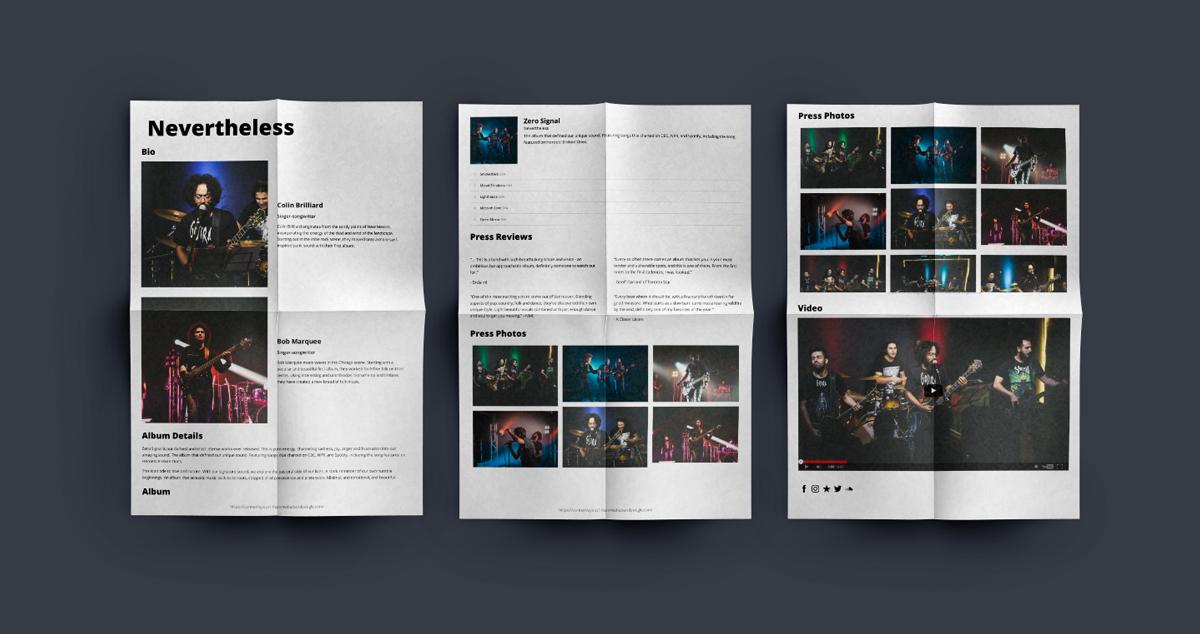 New: Create a downloadable Electronic Press Kit