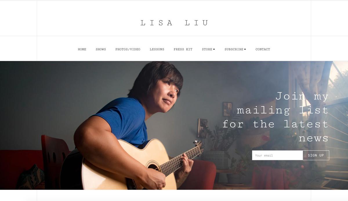 5 best website templates for guitarists