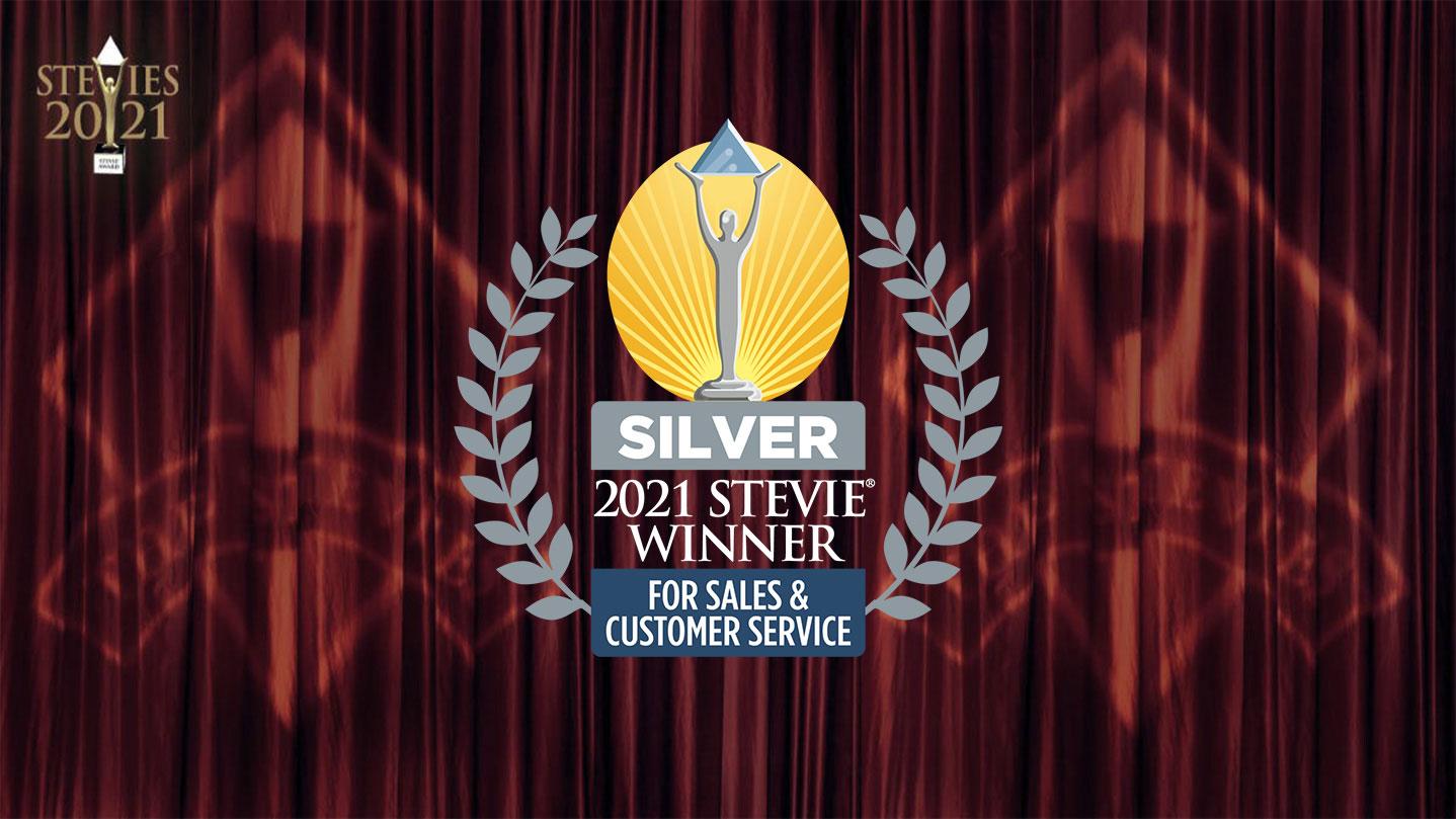 Support team honoured at Stevie's awards 2021