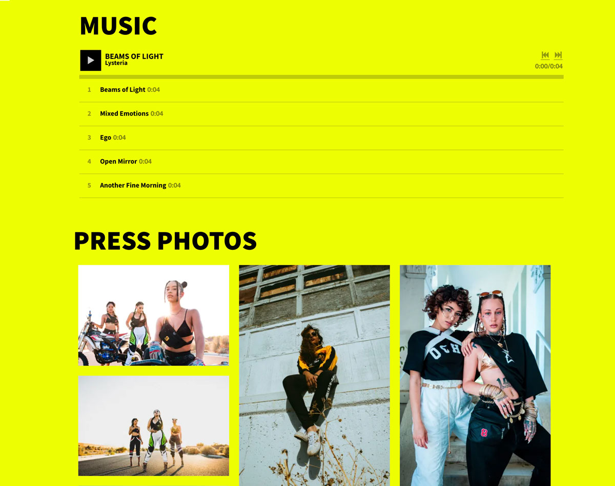 How to create an EPK using a template