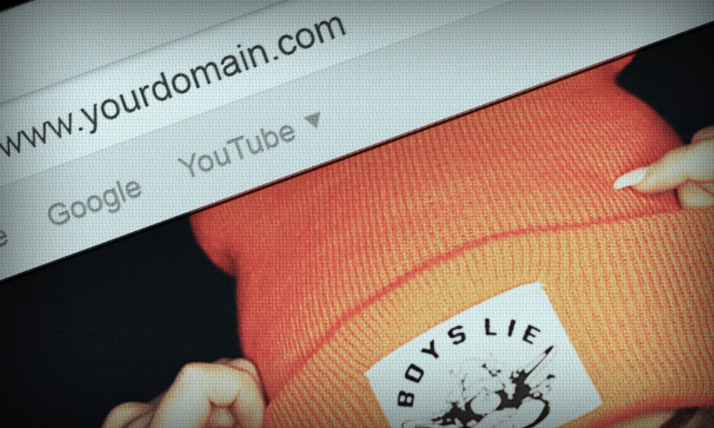 How to choose a domain name for your music website
