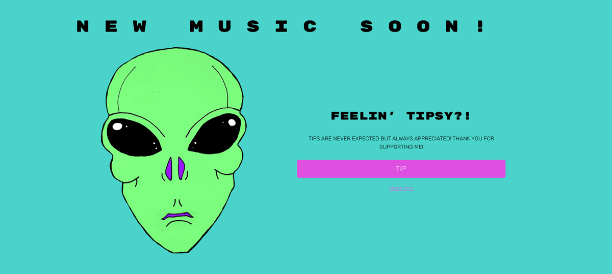 How to make the most of a virtual tip jar on your music website
