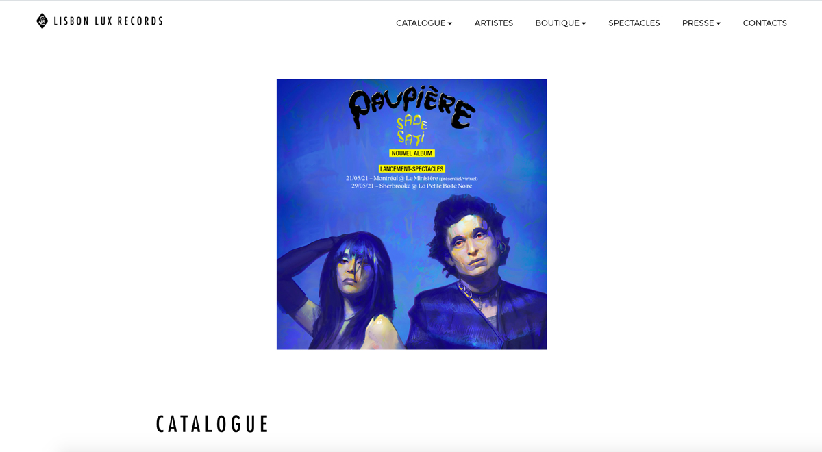 5 best website templates for record labels for example