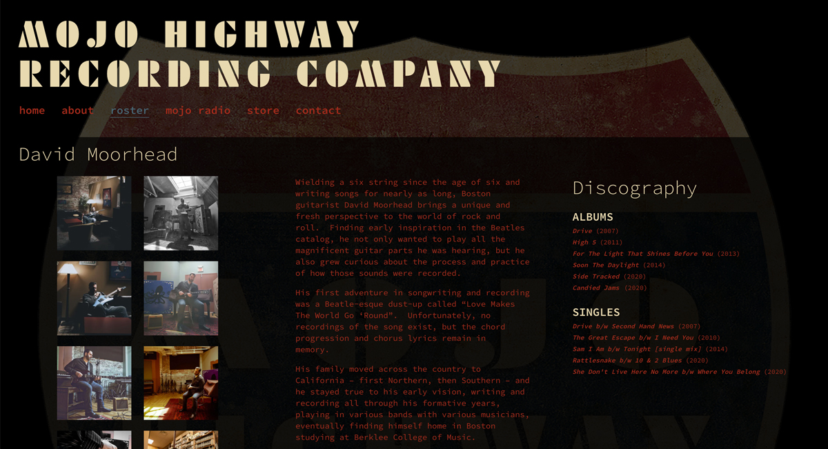 5 best website templates for record labels