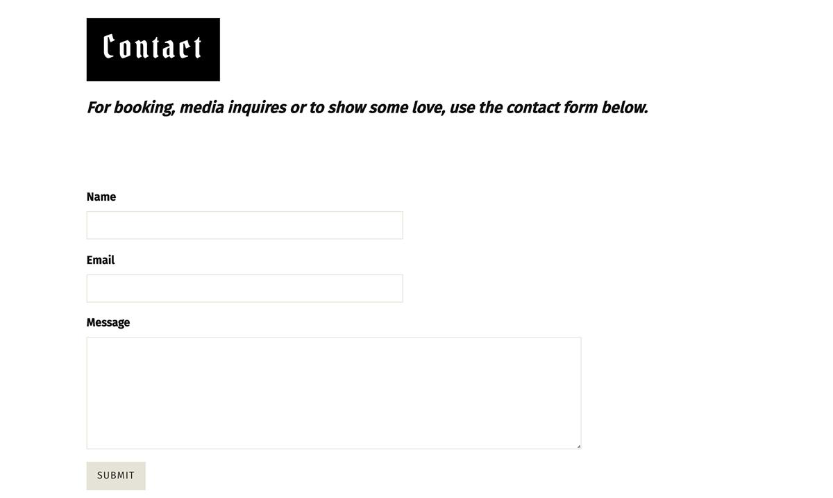 Best Singer Websites: A.Sanchez