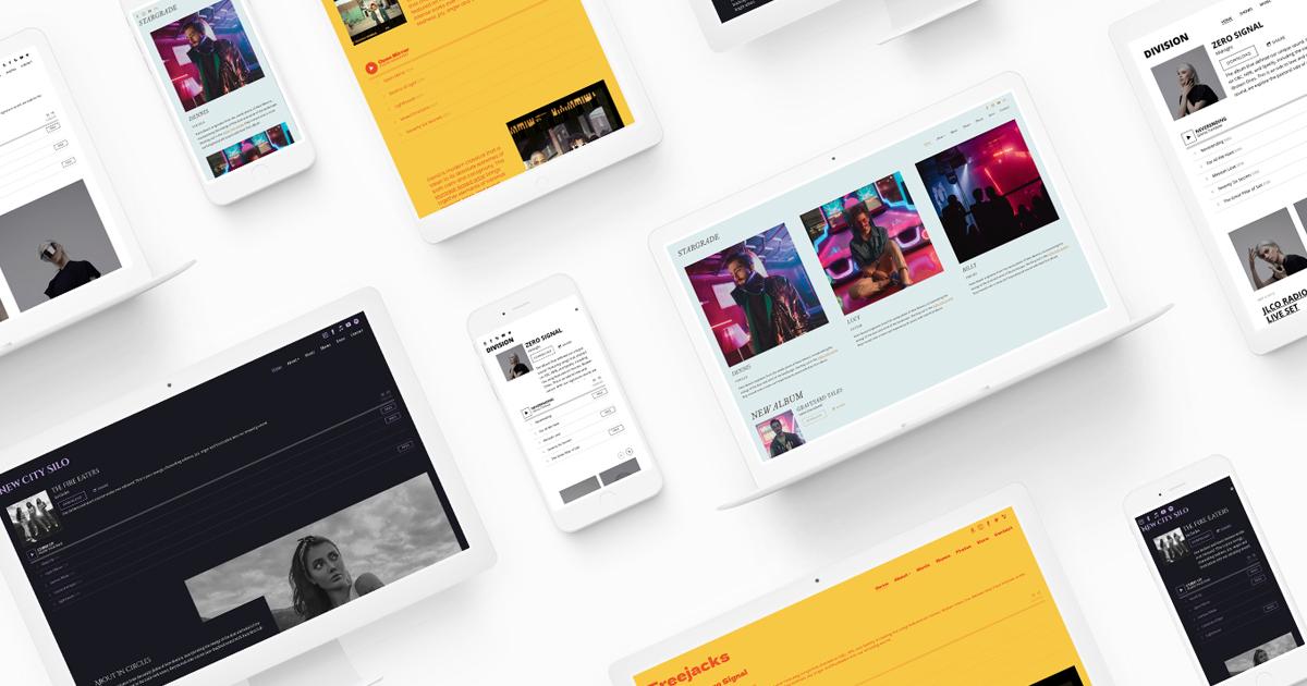 New website template: Signal